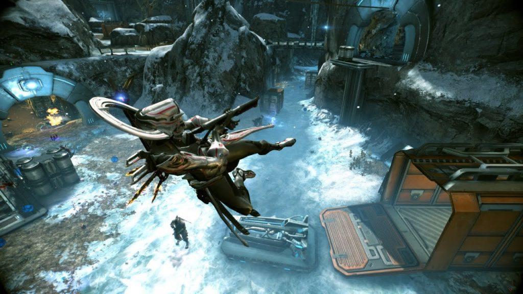 скриншот из игры Warframe