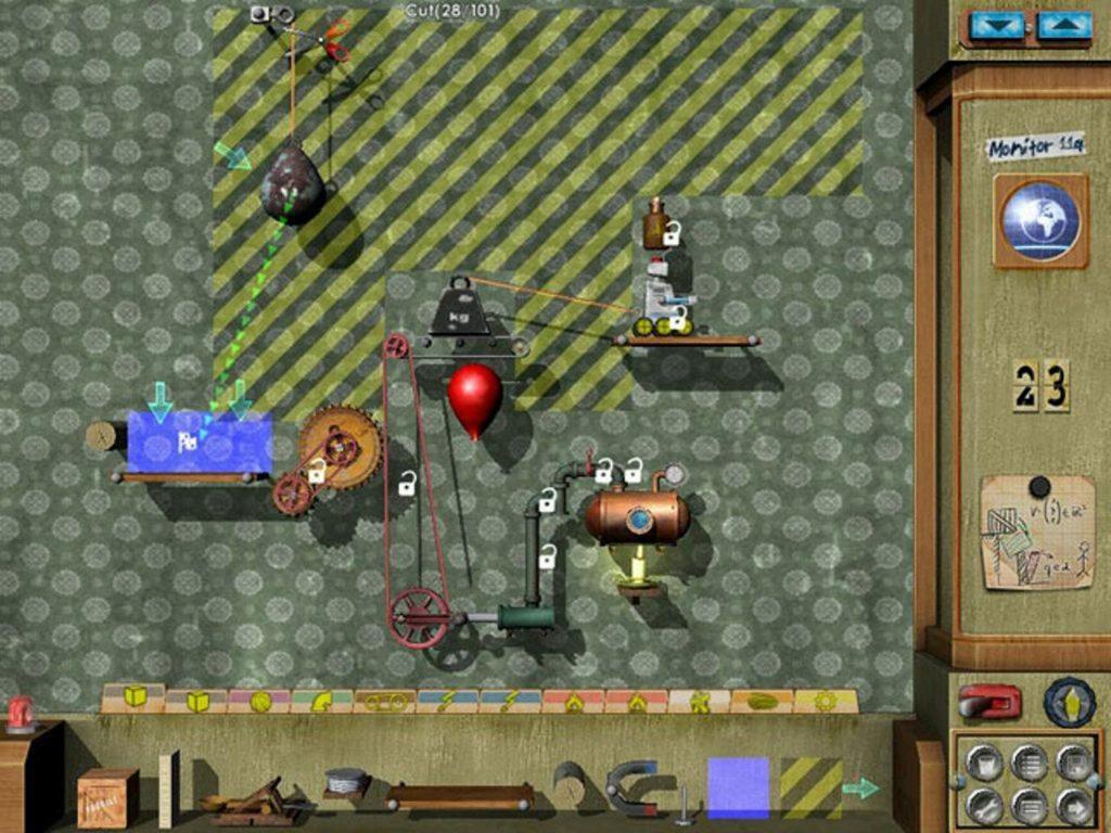 скриншот игры crazy machines