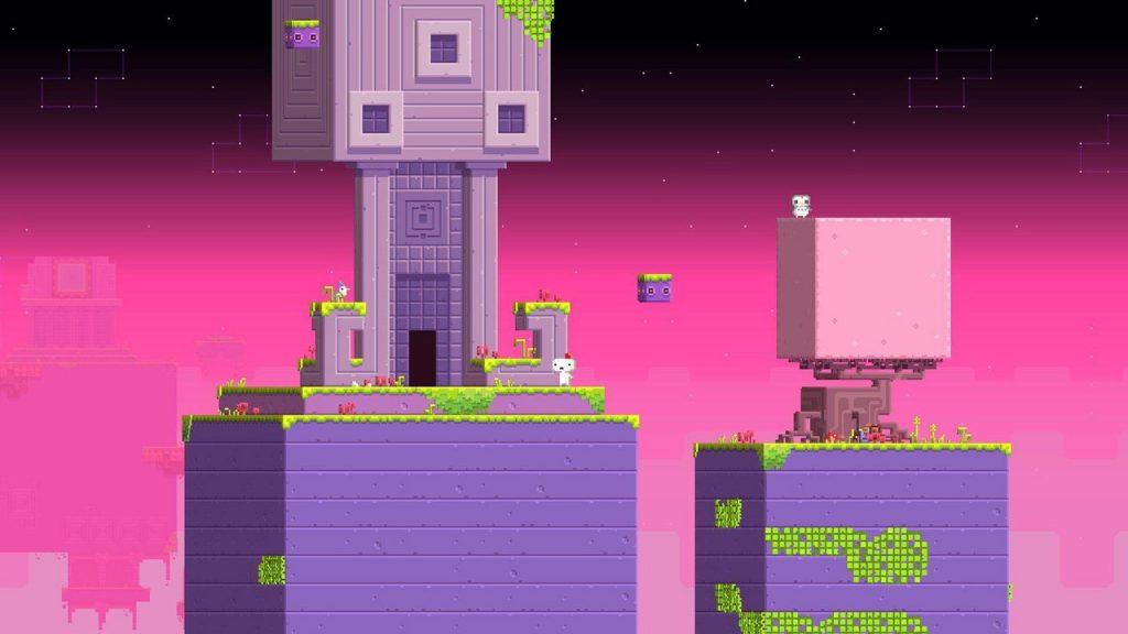 скриншот игры fez