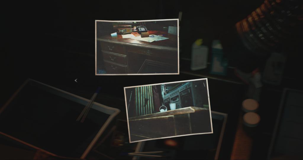 пленка фото тайное убежище в resident evil 2 remake