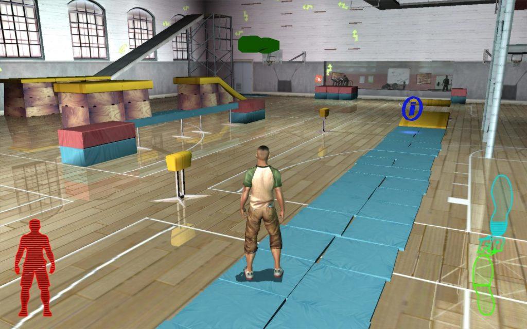 скриншот из игры free running