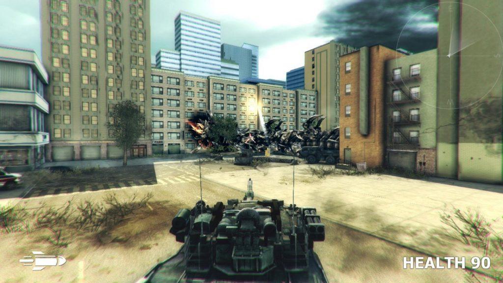 скриншот из игры GEARGUNS: Tank offensive