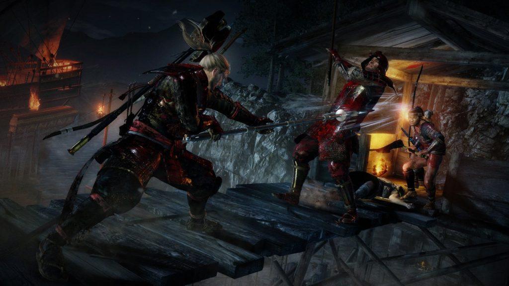 скриншот из игры nioh