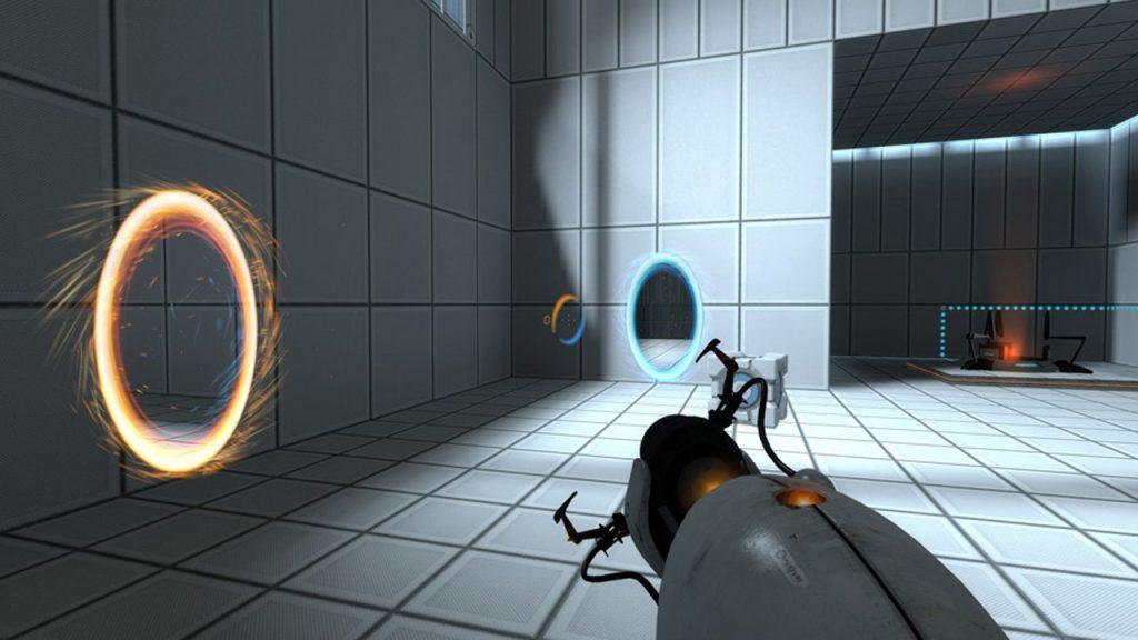 скриншот игры portal