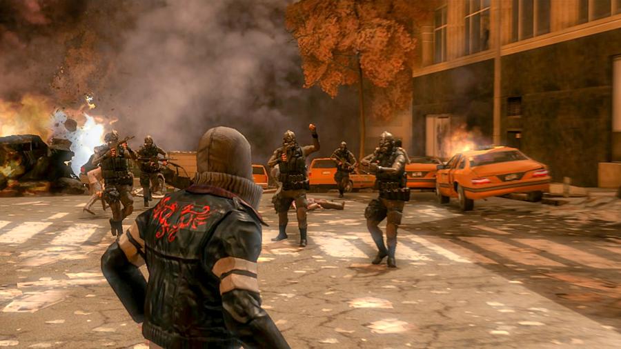 скриншот из игры prototype