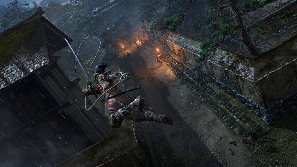 скриншот из игры sekiro