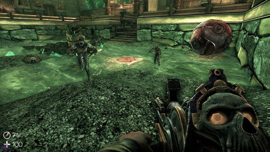 скриншот игры the ball