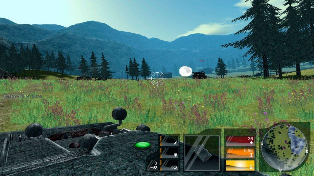 скриншот игры Zero Ballistics