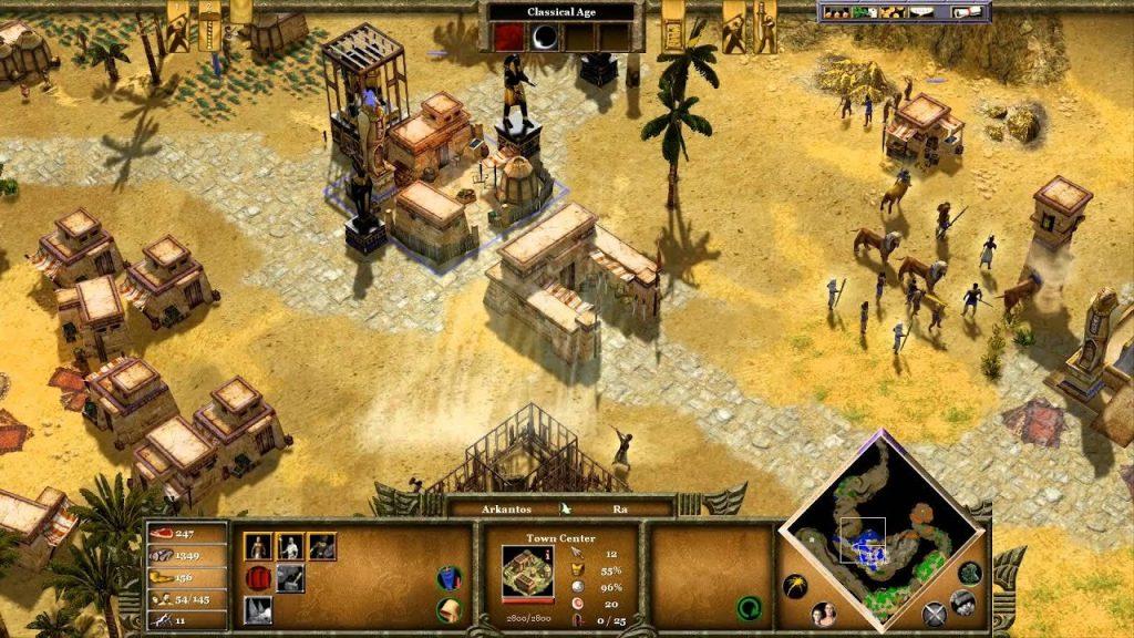 скриншот из Age of Mythology