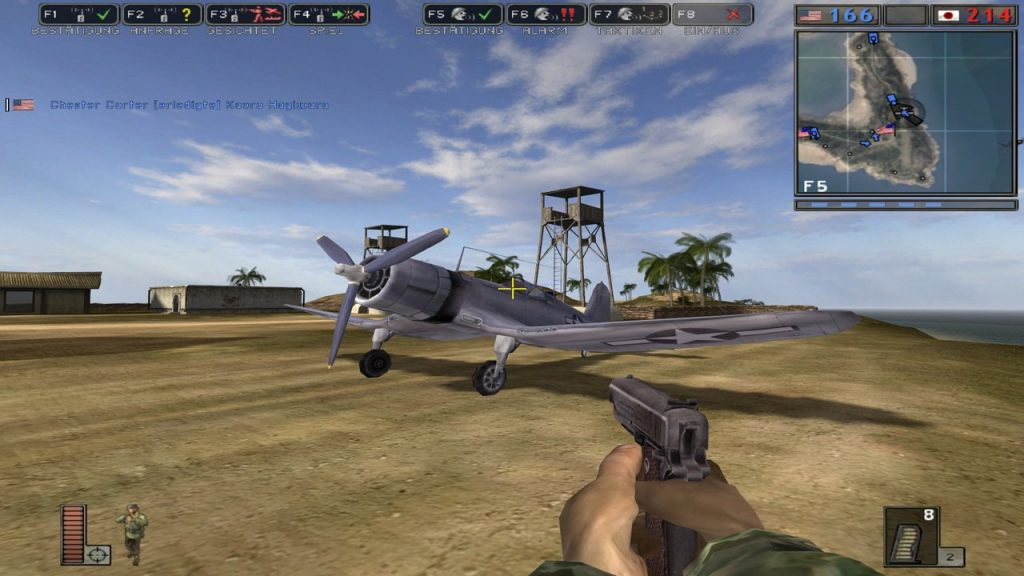 скриншот из Battlefield 1942