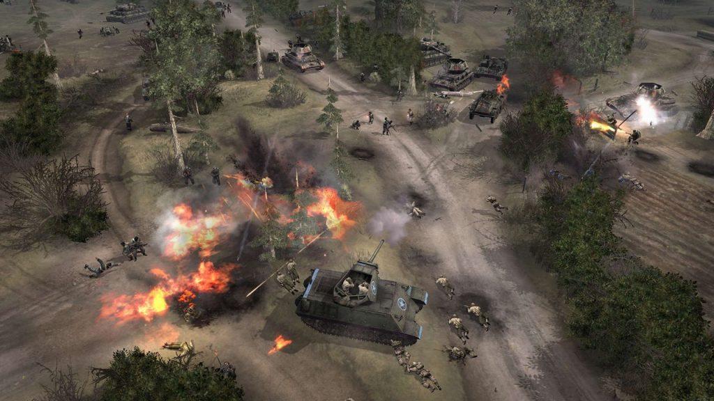 скриншот из Company of Heroes