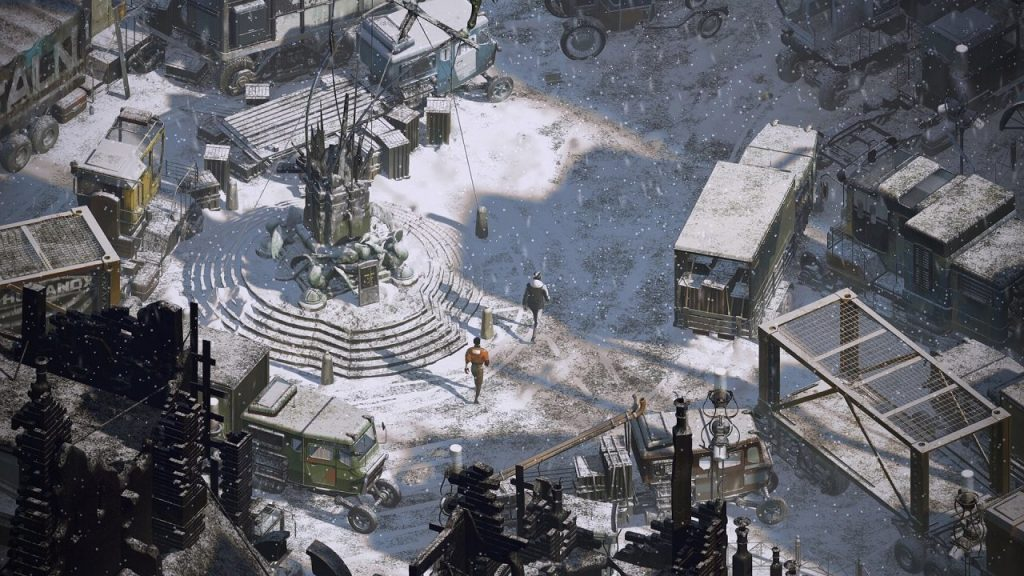 скриншот из Disco Elysium