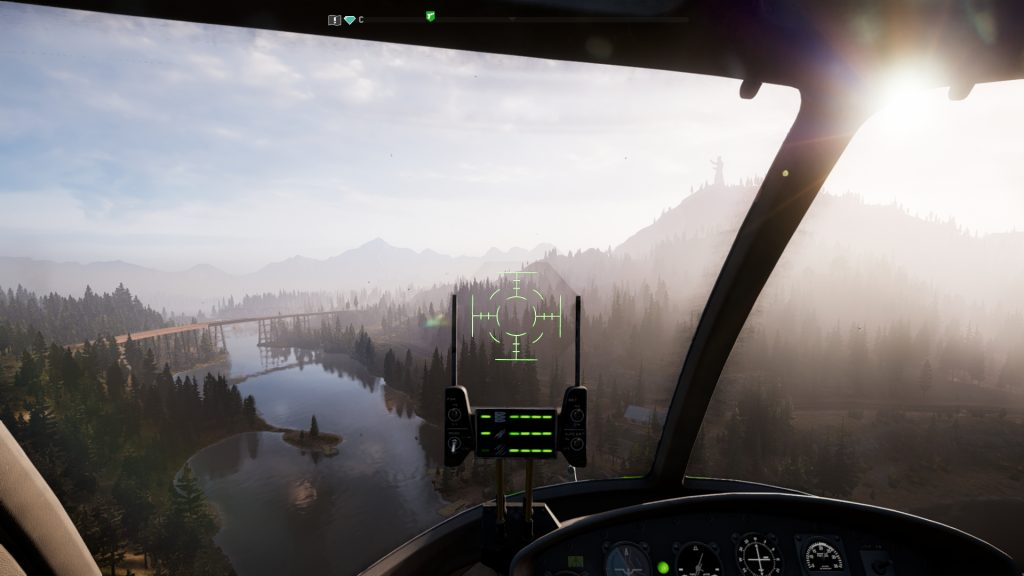 скриншот из вертолета в far cry 5