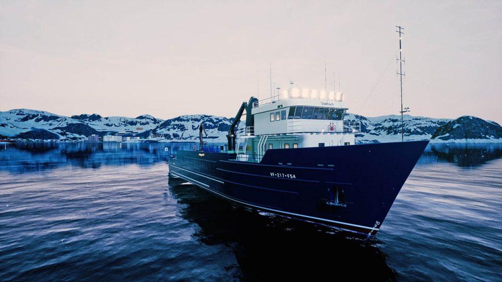 скриншот из Fishing Barents Sea