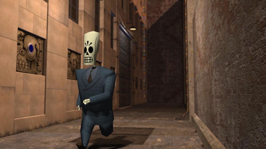 скриншот из Grim Fandango