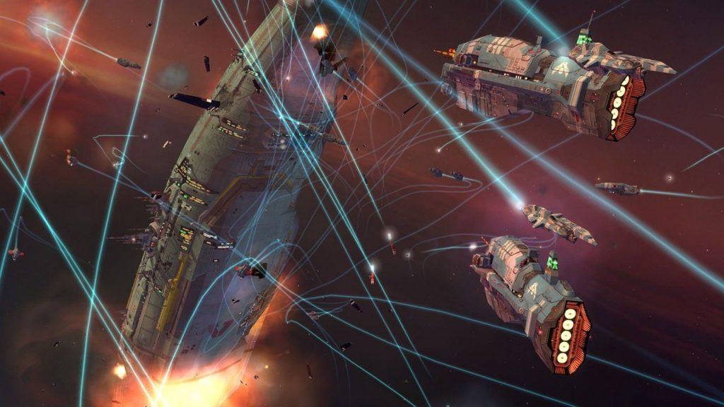 скриншот из Homeworld 2 Remastered
