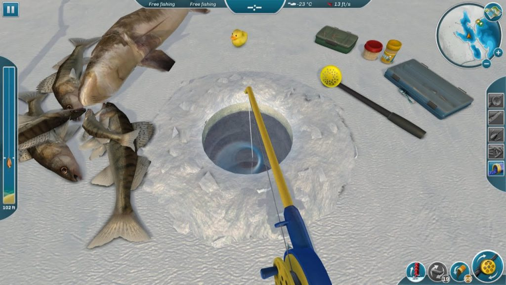 скриншот из Ice Lakes
