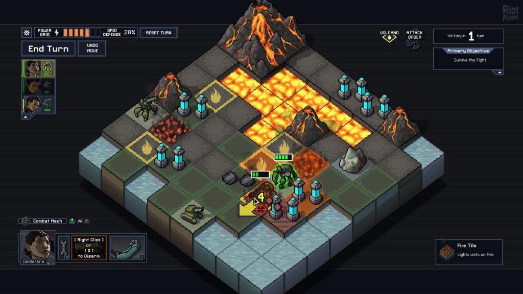 скриншот из Into the Breach
