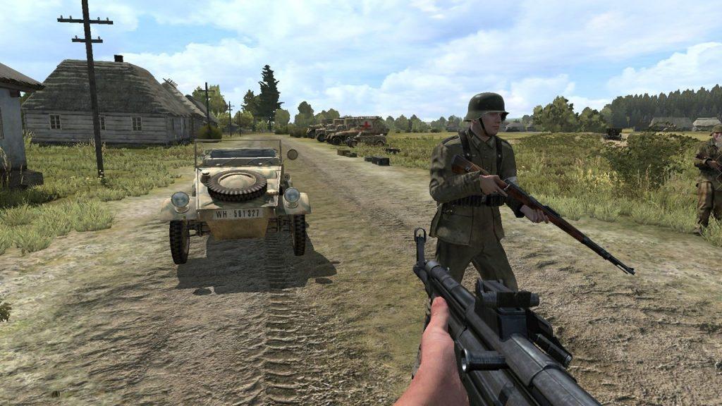 скриншот из Iron Front Liberation 1944