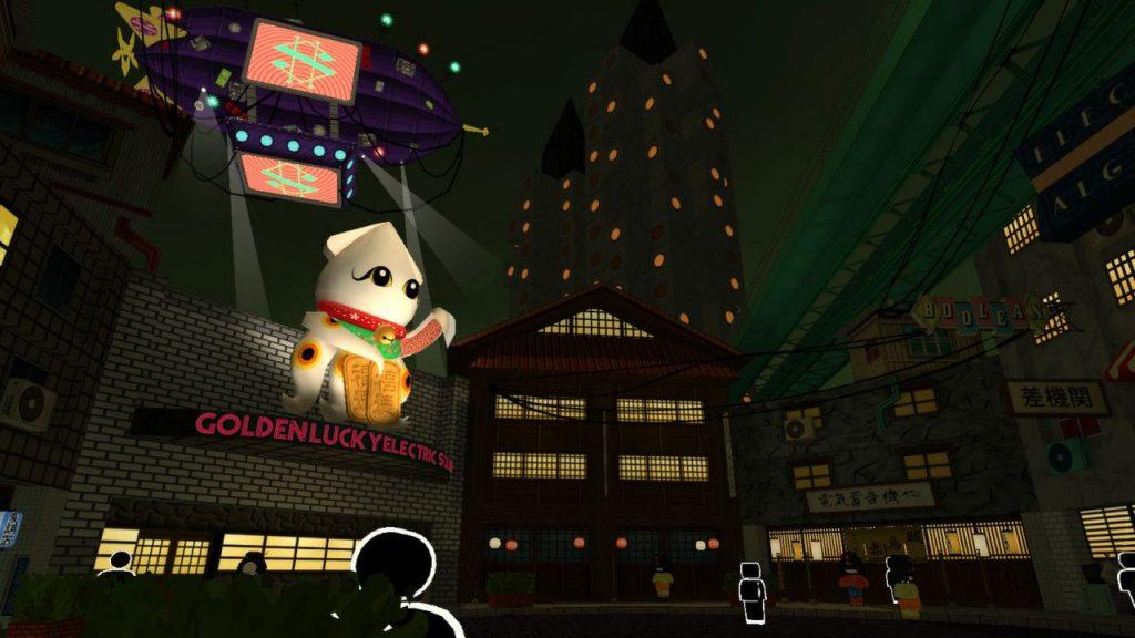 скриншот из Jazzpunk