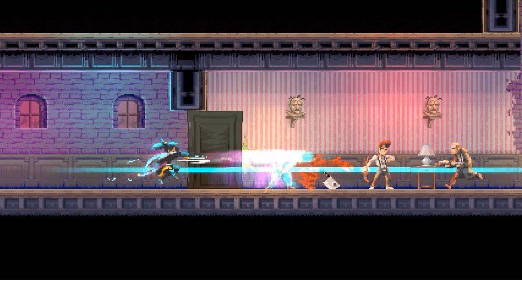скриншот из Katana ZERO