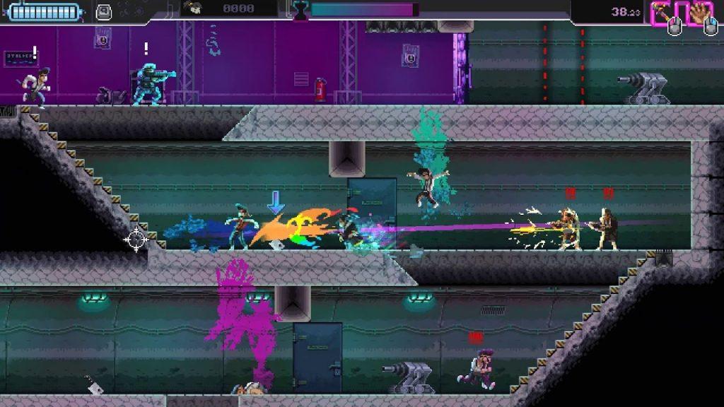 скриншот из игры Katana ZERO