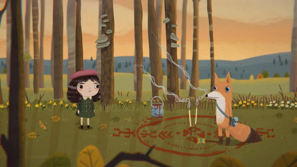 скриншот из игры Little Misfortune
