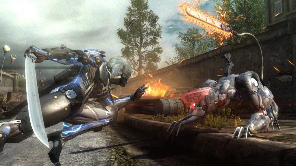 скриншот из Metal Gear Rising Revengeance