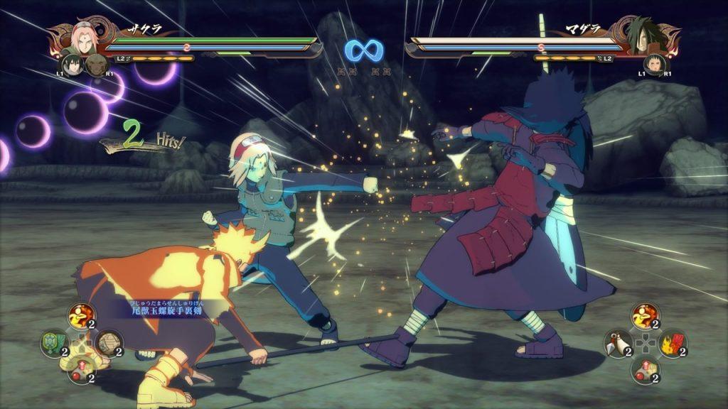 скриншот из Naruto Ultimate Ninja