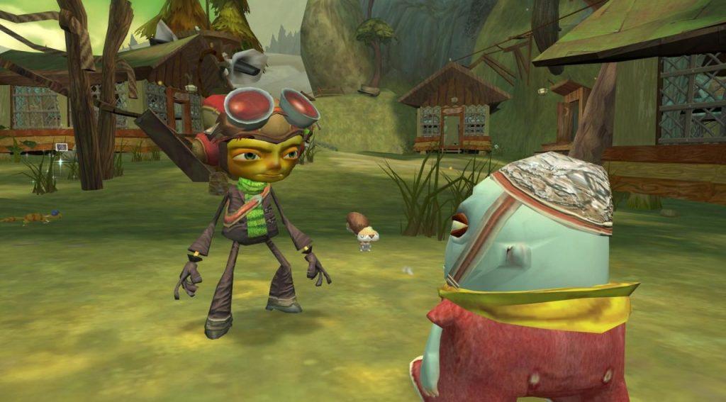 скриншот из Psychonauts