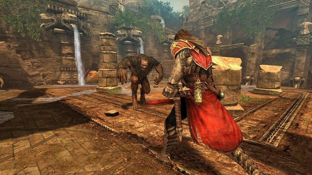 скриншот из Серия Castlevania