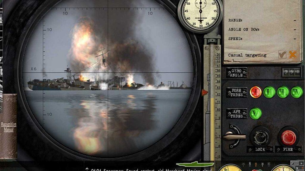 скриншот из Silent Hunter
