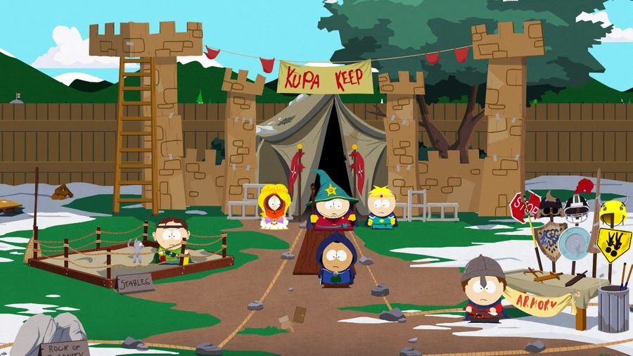 скриншот из South Park The Stick of Truth