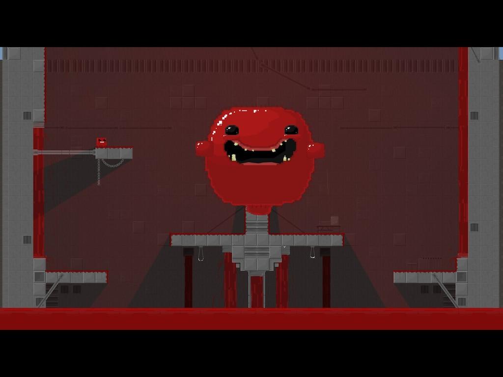 скриншот из Super Meat Boy