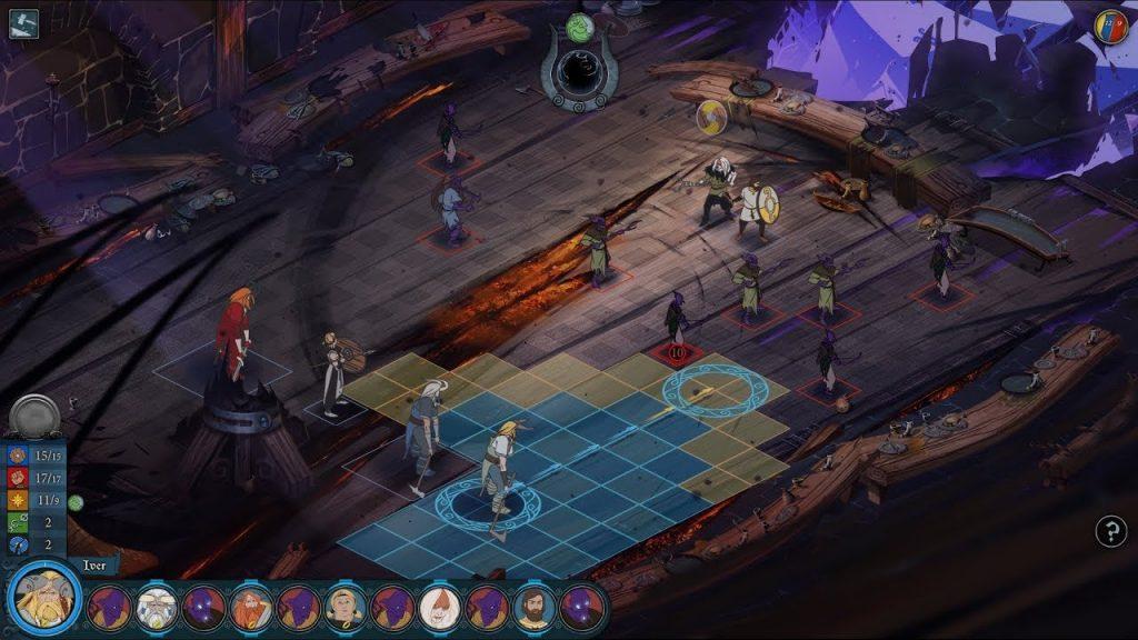 скриншот из игры The Banner Saga 3