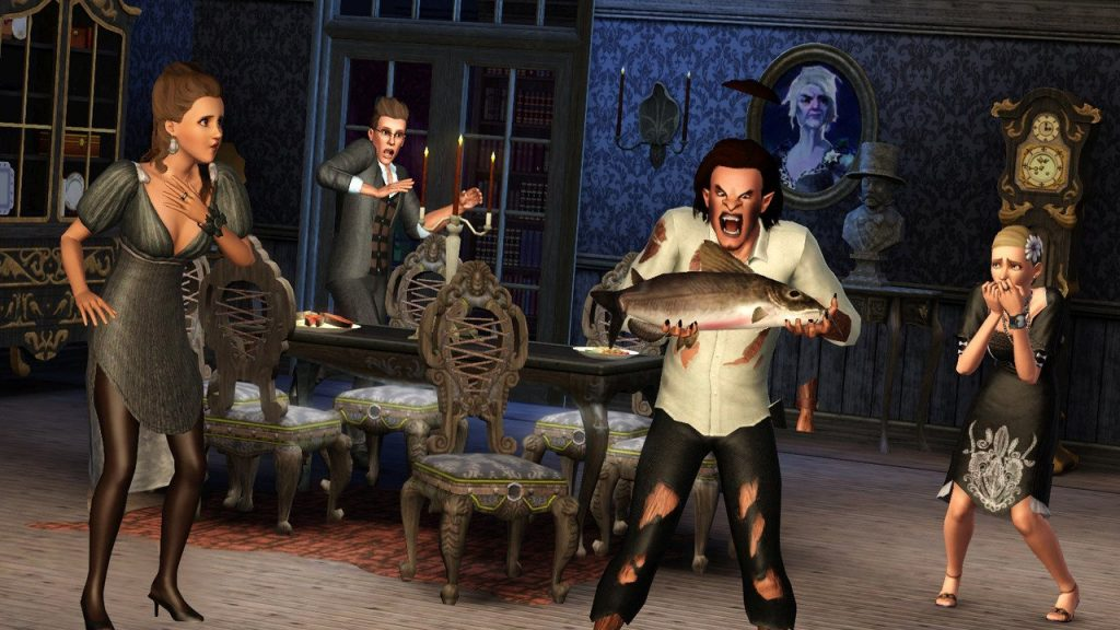 The Sims 3 Supernatural скриншот