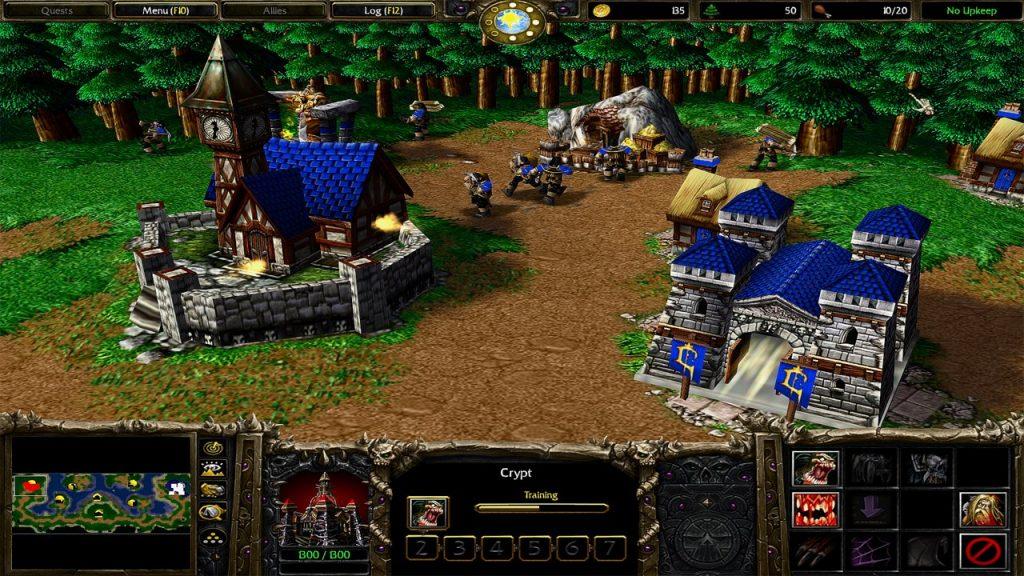 скриншот из Warcraft III