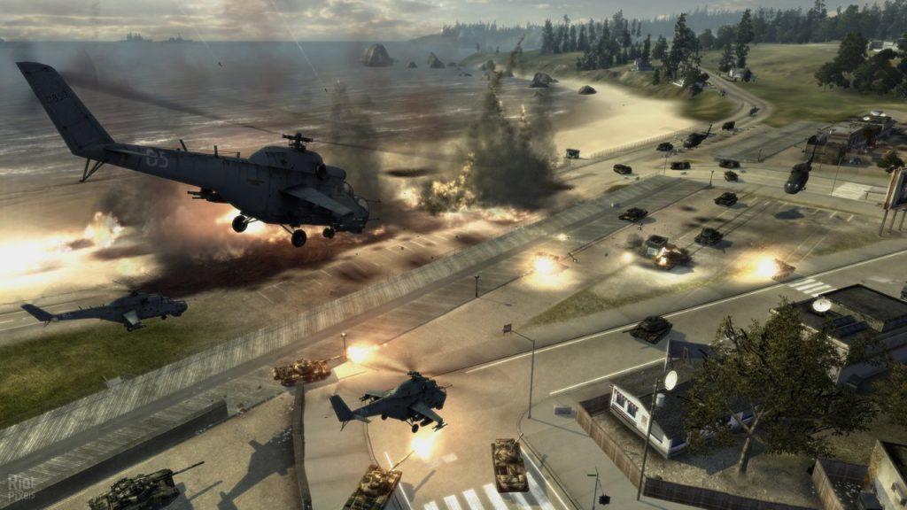 скриншот из World in Conflict