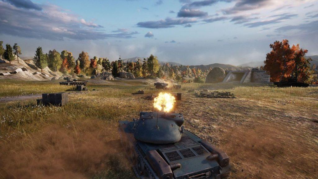 скриншот из World of Tanks