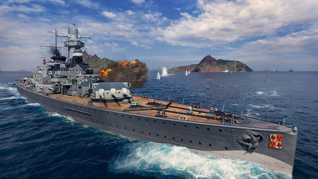 скриншот из World of Warships