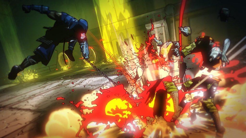 скриншот из Yaiba Ninja Gaiden Z