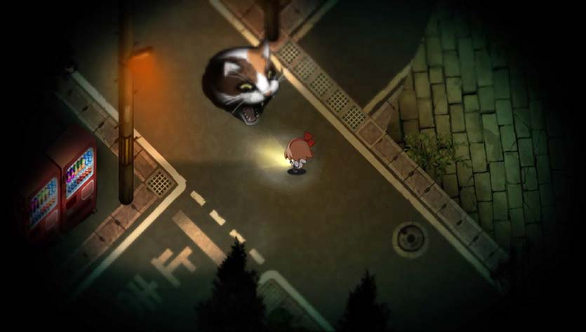скриншот из Yomawari: Night Alone