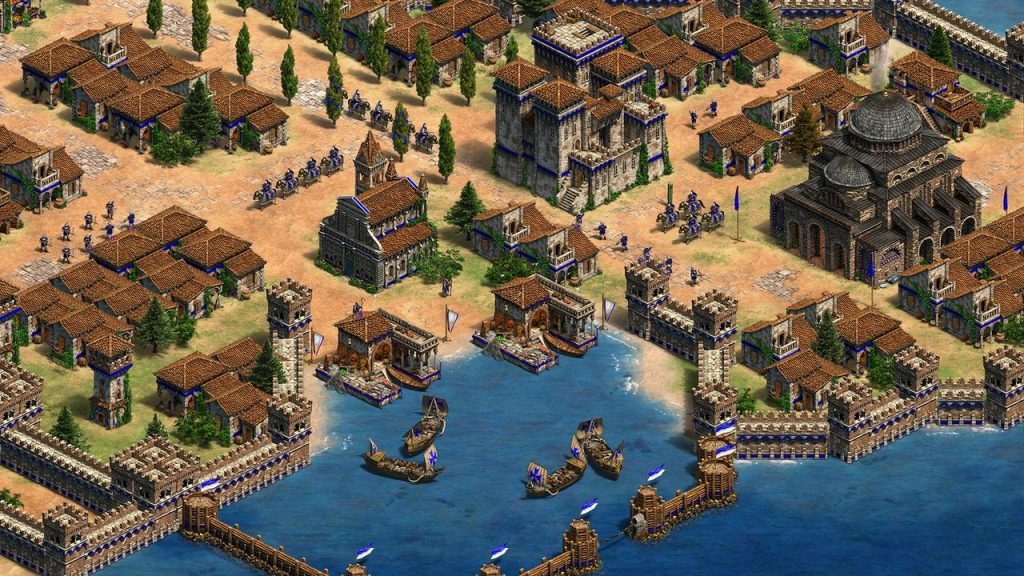 скриншот из age of empires 2 HD