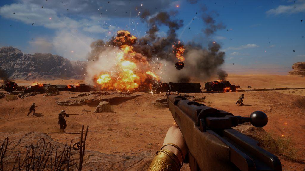 скриншот из Battlefield 1