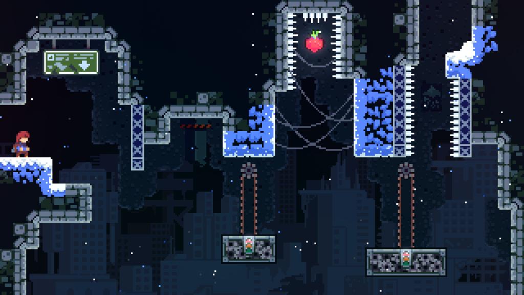 скриншот из celeste