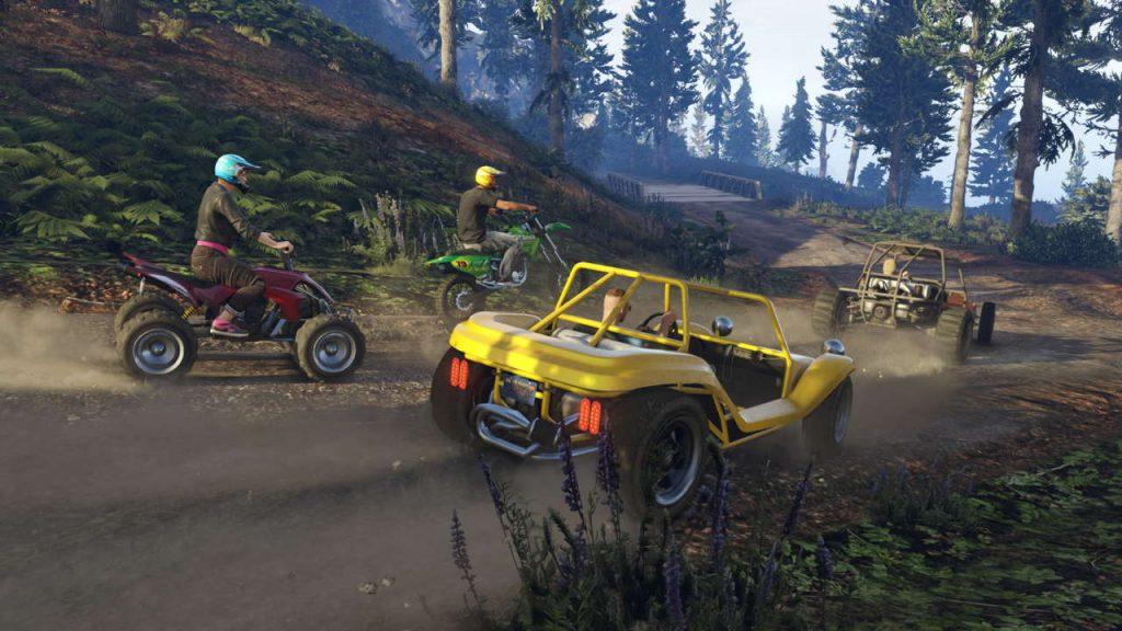 Grand Theft Auto V Online скриншот