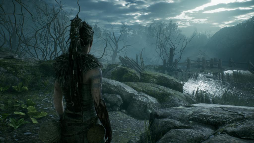 скриншот из игры hellblade