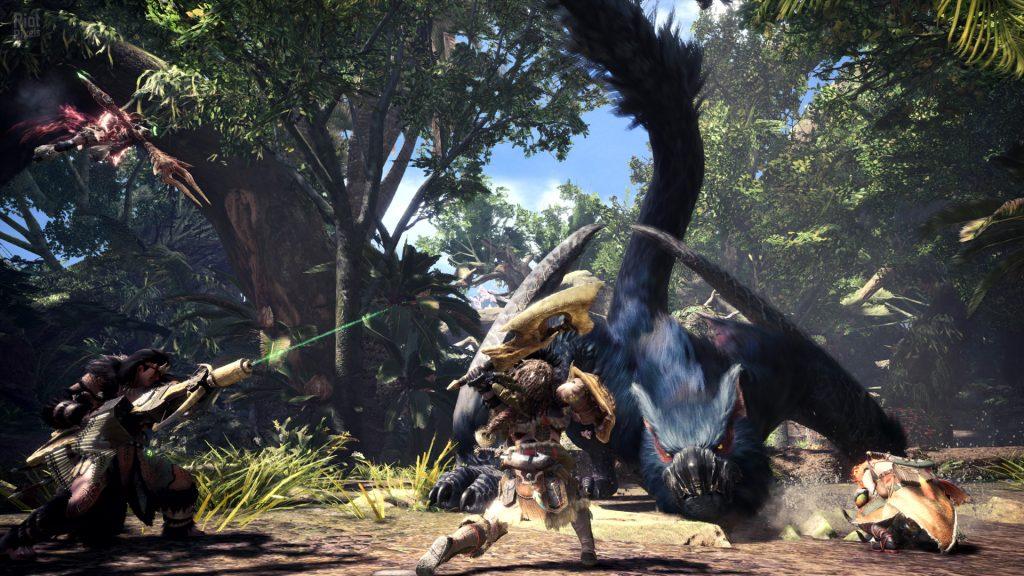 monster-hunter-world скриншот
