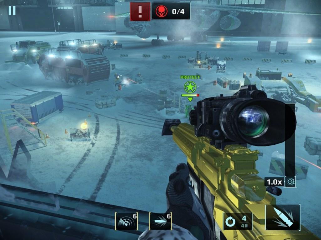 скриншот из sniper fury