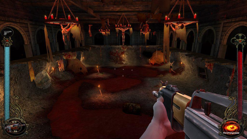 скриншот из игры Vampire: The Masquerade